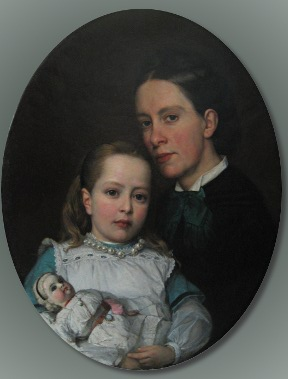 Woman, Girl and Doll