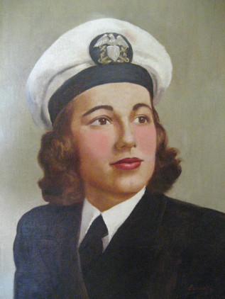 Navy Woman After Restoration
