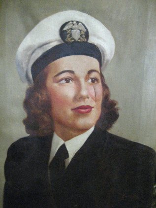 Navy Woman Before Restoration