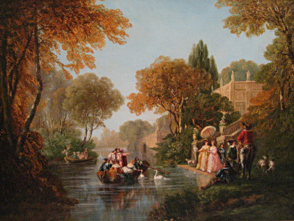 Party by the Canal After Restoration