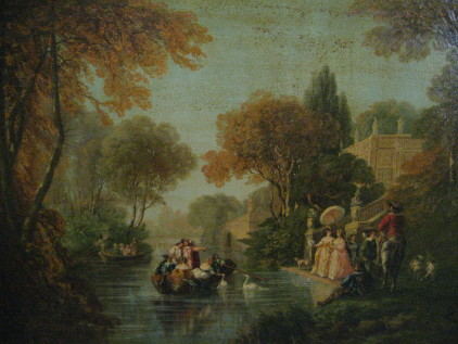 Party by the Canal Before Restoration