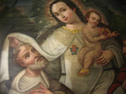 Religious Painting Before Restoration
